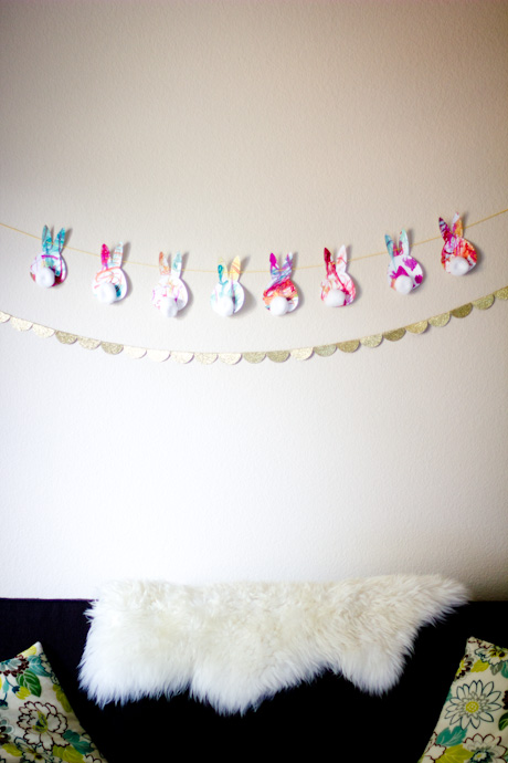 bunny garland
